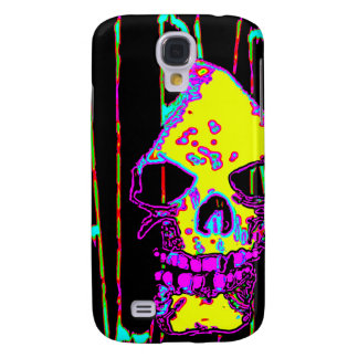 Grim Reaper over VALPYRA Yellow by Valpyra Samsung Galaxy S4 Cover