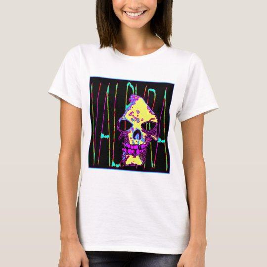 Grim Reaper over VALPYRA Yellow by Valpyra T-Shirt