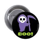 Grim Reaper Pinback Button