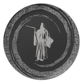 Grim Reaper Party Plate