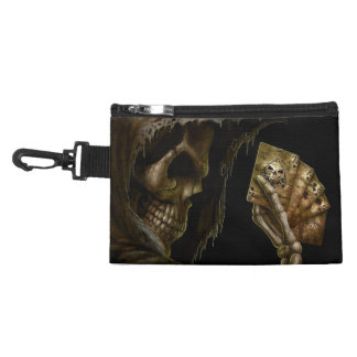 Grim Reaper Plays Cards With Winning Hand Accessory Bag