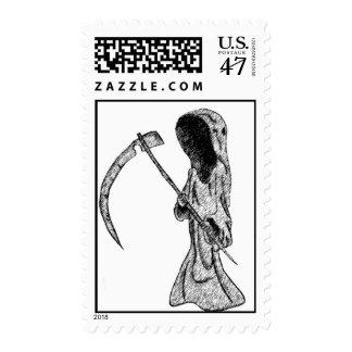 grim reaper postage