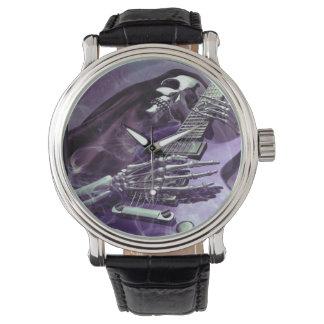 Grim Reaper's Guitar Wrist Watch
