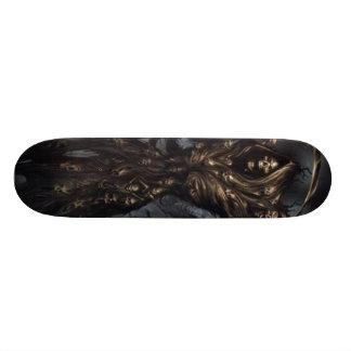 grim reaper custom skateboard