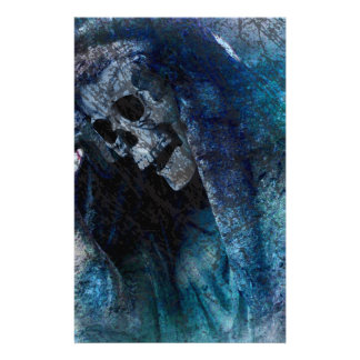 Grim Reaper Skeleton Stationery