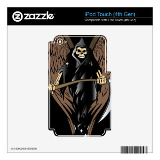 Grim Reaper Skin For iPod Touch 4G
