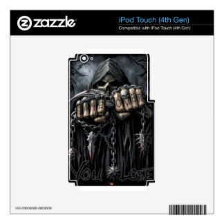 grim reaper skins for iPod touch 4G