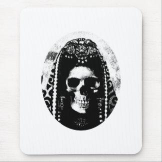 Grim Reaper Skull Design Mouse Pad