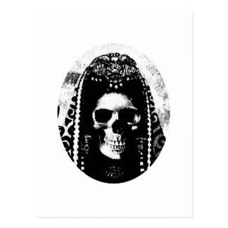 Grim Reaper Skull Design Postcard