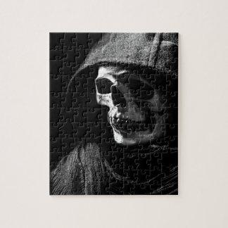 Grim Reaper Skull Puzzle