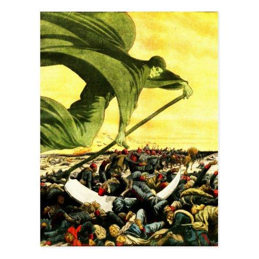 Grim Reaper Sky postcard