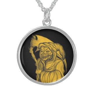 grim reaper - The Death Round Pendant Necklace
