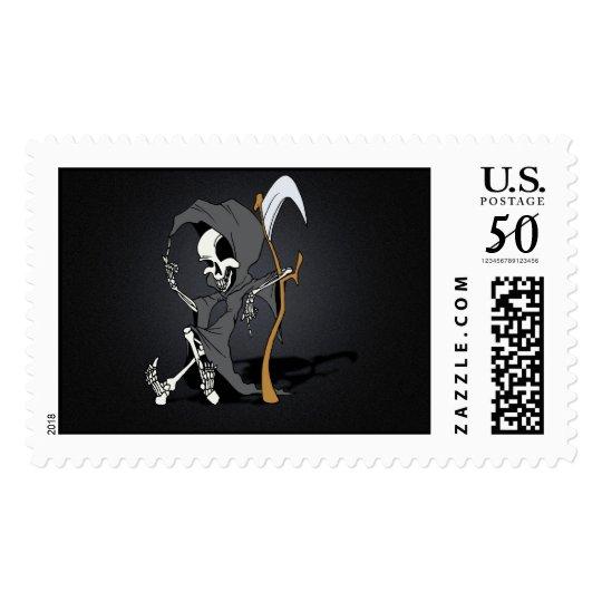 Grim Reaper Toon Postage