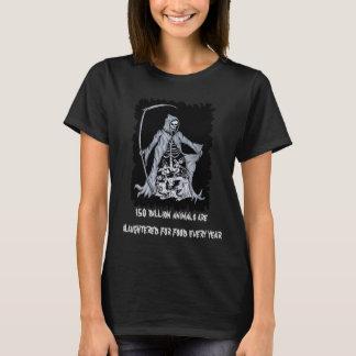 Grim Reaper Vegan Black Tshirt