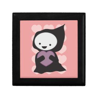 Grim Reaper with Heart giftbox Jewelry Box