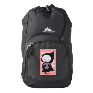 Grim Reaper with Heart High Sierra Backpack