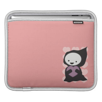 Grim Reaper with Heart iPad Sleeves