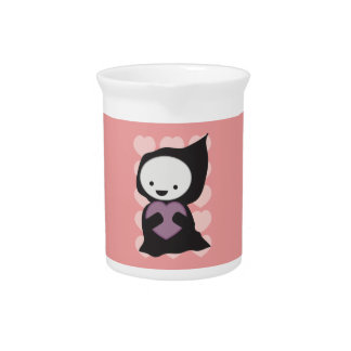 Grim Reaper with Heart Pitcher
