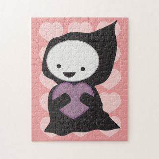 Grim Reaper with Heart Puzzles
