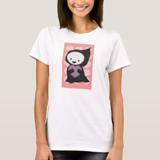 Grim Reaper with Heart Tshirt