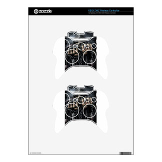 grim reaper xbox 360 controller decal