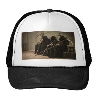 Grim Reapers Waiting For You Trucker Hat