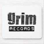 Grim Records Logo Mousepad