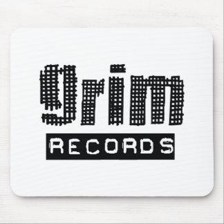 Grim Records Logo Mouse Pad