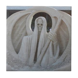 Grim Reeper Ceramic Tile