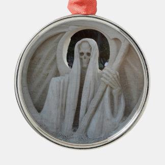 Grim Reeper Metal Ornament