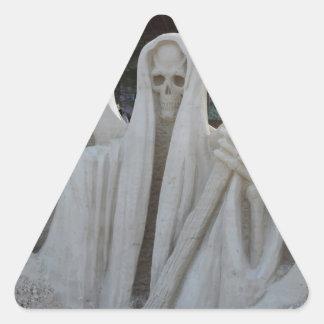Grim Reeper Triangle Stickers