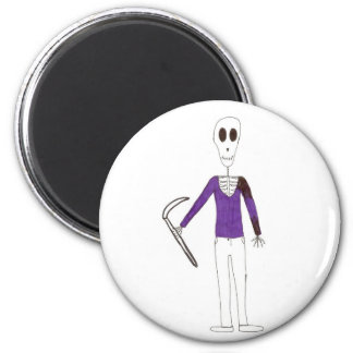 Grim The Reaper Magnet