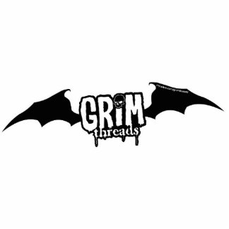 Grim threads Logo Sculpture Keychain