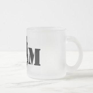 grim world frosted glass coffee mug
