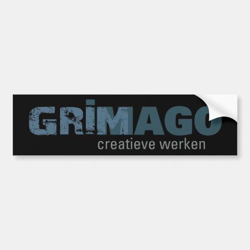 Grimago Bumpersticker Car Bumper Sticker