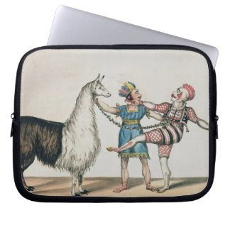 Grimaldi and the Alpaca, in the Popular Pantomime Computer Sleeve