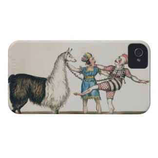 Grimaldi and the Alpaca, in the Popular Pantomime iPhone 4 Covers