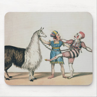 Grimaldi and the Alpaca, in the Popular Pantomime Mouse Pad