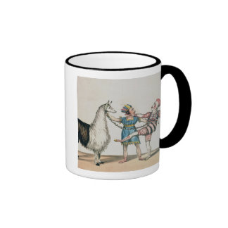 Grimaldi and the Alpaca, in the Popular Pantomime Mugs