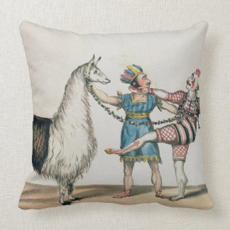 Grimaldi and the Alpaca, in the Popular Pantomime Pillows