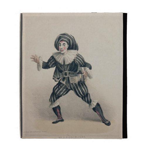 Grimaldi as Scaramouche, from the Commedia dell'Ar iPad Folio Covers