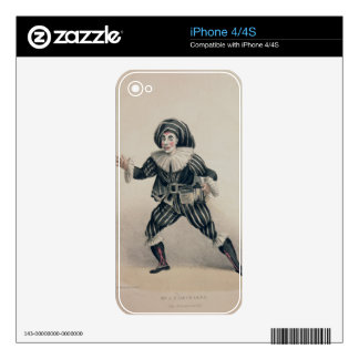 Grimaldi as Scaramouche, from the Commedia dell'Ar Skin For The iPhone 4S