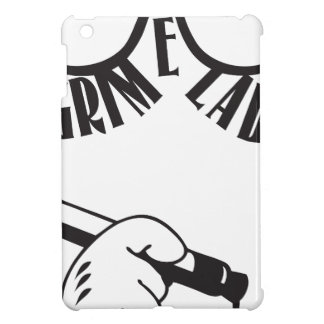 Grime Lab glasses hipster tagger iPad Mini Cover