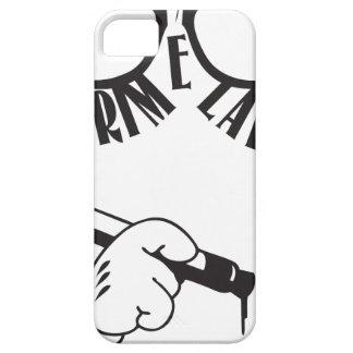 Grime Lab glasses hipster tagger iPhone SE/5/5s Case