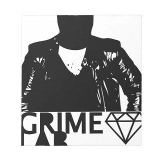Grime Lab Vandals Notepad