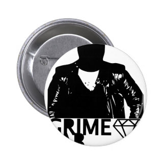 Grime Lab Vandals Pinback Button
