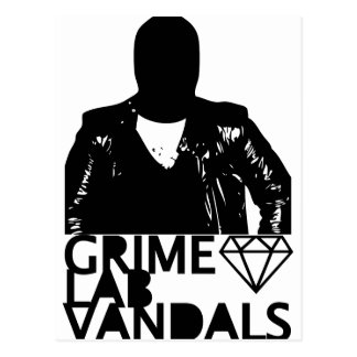 Grime Lab Vandals Postcard