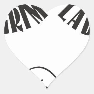 Grime Lab Writer Heart Sticker