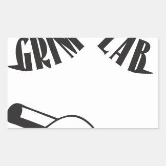 Grime Lab Writer Rectangular Sticker