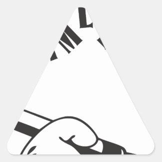 Grime Lab Writer Triangle Sticker